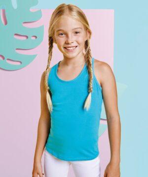 Camiseta para niña de tirantes Brenda 6535 Roly