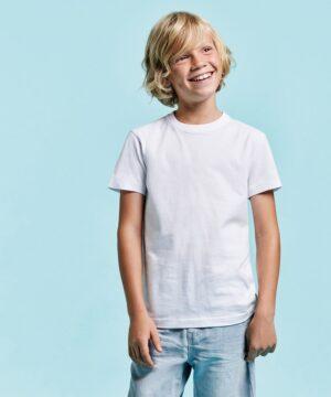 Camiseta para niño manga corta Braco 6550 Roly