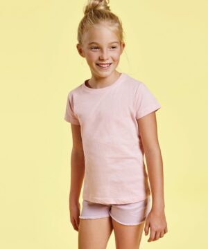 Camiseta para niña manga corta Jamaica 6627 Roly